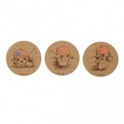 Coaster Pikachu Album Collection B japan plush