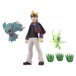 Figurine Matsuba Feuforêve Celebi Pokemon Scale World