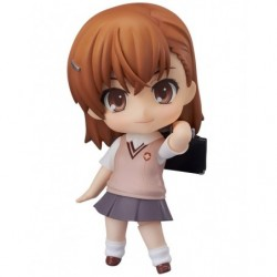 Nendoroid Mikoto Misaka(Rerelease) A Certain Scientific Railgun S japan plush