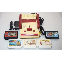 Nintendo Famicom AV Mod C Grade - 5 Items Set + 5 RPG Games Set