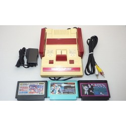 Nintendo Famicom AV Mod C Grade - 5 Items Set + 3 Games Set B