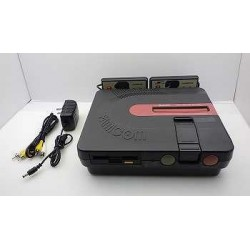 Sharp Twin Famicom AN-500B Black - 5 Items Set