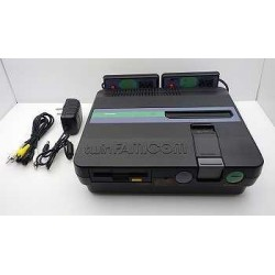 Sharp Twin Famicom Turbo AN-505 Black - 5 Items Set