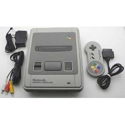 Nintendo Super Famicom A Grade - 4 Items set