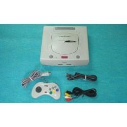 Sega Saturn Blanc - Set 4 Articles