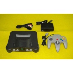Nintendo 64 Black - 4 Items Set