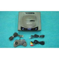 Sega Saturn Grey - 4 Items Set