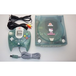 Sega Dreamcast Hello Kitty Blue - 4 Items Set