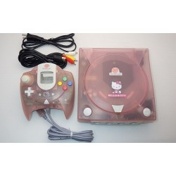 Sega Dreamcast Hello Kitty Pink - 4 Items Set