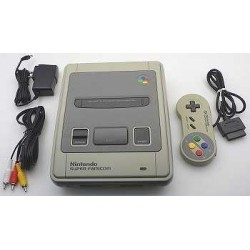 Nintendo Super Famicom B Grade - 4 Items Set