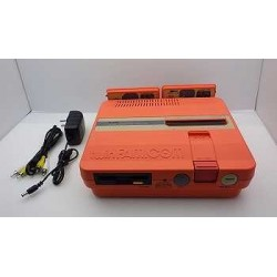 Sharp Twin Famicom Turbo Orange - 5 Items Set