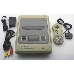 Nintendo Super Famicom C Grade - 4 Items Set