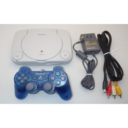 Sony PSone - 4 Items Set (Blue Controller)