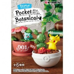 Figure Pocket Botanical Pokemon BOX japan plush