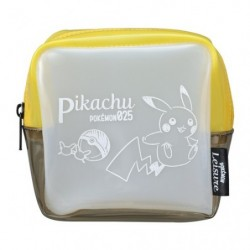 Clear Pocket Wallet  Pikachu japan plush