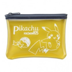 Clear Card Wallet Pikachu japan plush