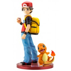 Figure Red and Charmander ARTFX J japan plush