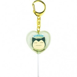 Keychain Snorlax Heart japan plush