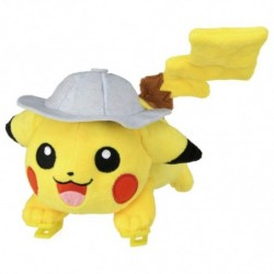 Peluche Pikachu Movie Run japan plush