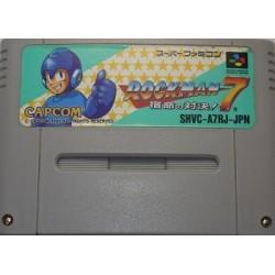 Rockman 7: Shukumei no Taiketsu! / Mega Man 7 Super Famicom japan plush