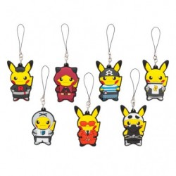 Keychain Strap Collection Member Pikachu japan plush