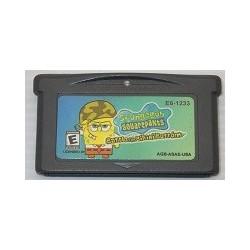 SpongeBob SquarePants: The Battle for Bikini Bottom Game Boy Advance (USA version) japan plush