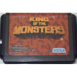 King of the Monsters Mega Drive