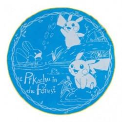 Serviette Pikachu in the forest japan plush