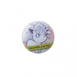 Badge ALOLAN VULPIX with YOU japan plush