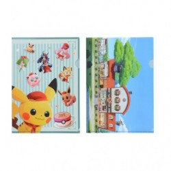 Clear File 2 Set  Pokémon CM japan plush