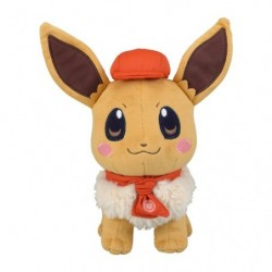 Plush Eevee Pokémon Café Mix