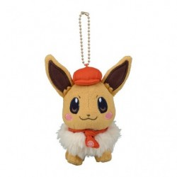 Plush Keychain Eevee Pokémon Café Mix japan plush