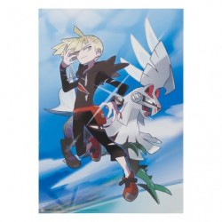 Mini Poster Grajio & Silvally japan plush