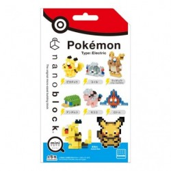 Nanoblock Electric Pokemon Type NBMC_08 japan plush