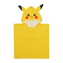 Hooded Bath Towel Pikachu Kids japan plush