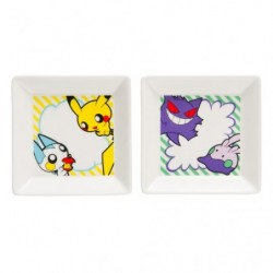Small Plate 2x Set POKÉMON POP japan plush