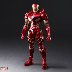 Figure Iron Man MARVEL UNIVERSE BRING ARTS japan plush