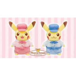 Set Pikachu Plush Pokemon Cafe Limited Edition japan plush