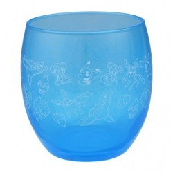 Verre GALAR Bleu Snubbull japan plush