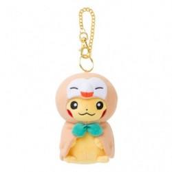 Plush Keychain Mascot Rowlet Poncho Pikachu japan plush