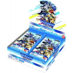 Display New Evolution Digimon TCG Japan BT-01