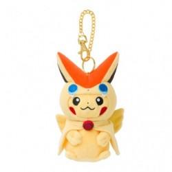 Plush Keychain Mascot Victini Poncho Pikachu japan plush
