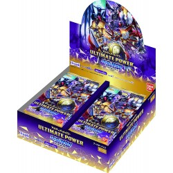 Display Ultimate Power Digimon TCG Japan BT-02
