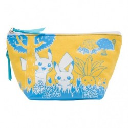 Bag Pocket Pikachu in the forest japan plush