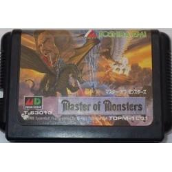 Master of Monsters Mega Drive