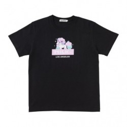 T Shirt HELLO PONYTA Black M japan plush