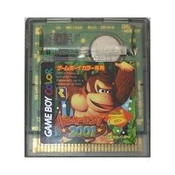 Donkey Kong 2001 Game Boy Color japan plush