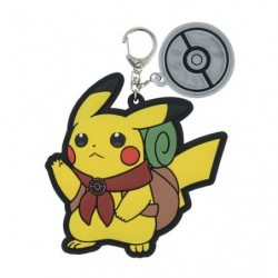 Key Holder PIKACHU ADVENTURE japan plush