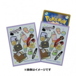 Card Sleeves Contents of Trainer s bag PL japan plush
