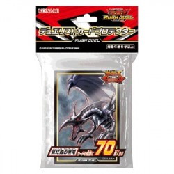 Protèges Cartes Dragon Noir aux Yeux Rouges YuGiOh japan plush